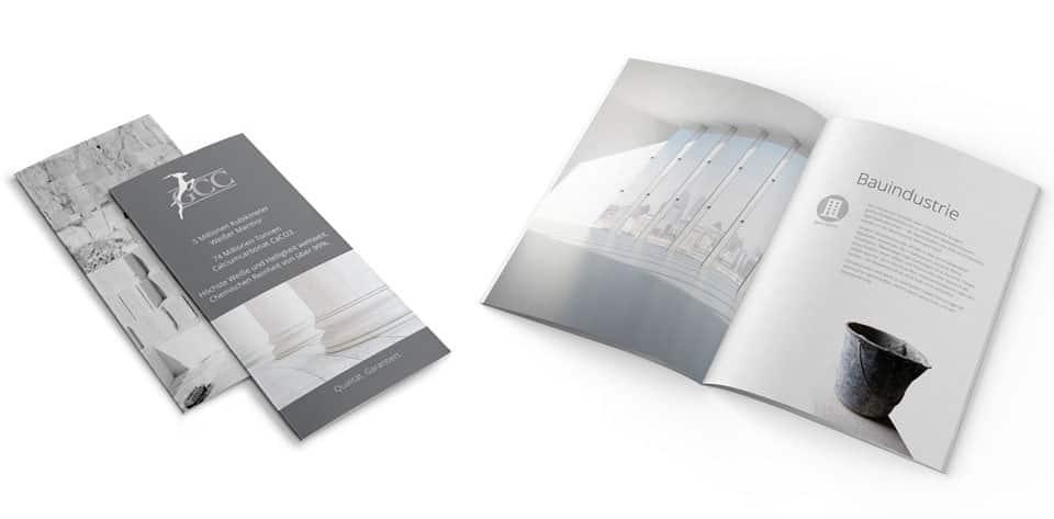 Broschüren - im Corporate Design
