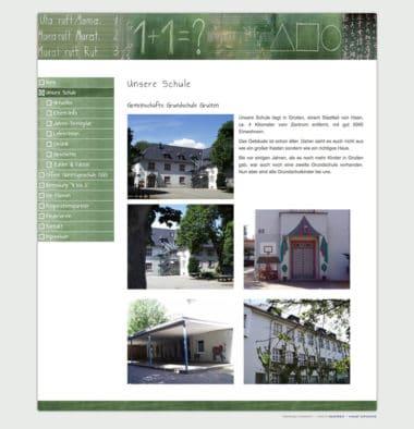 Webdesign für Education - Gemeinschafts Grundschule Gruiten
