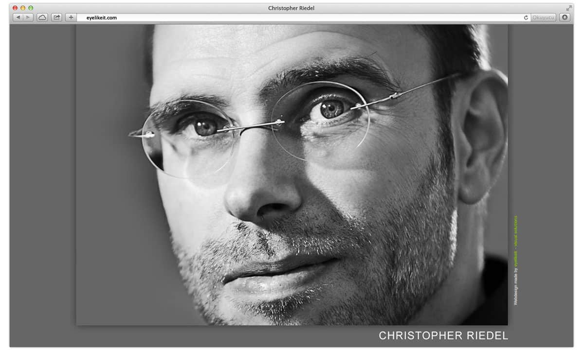 Christopher Riedel made by eyelikeit