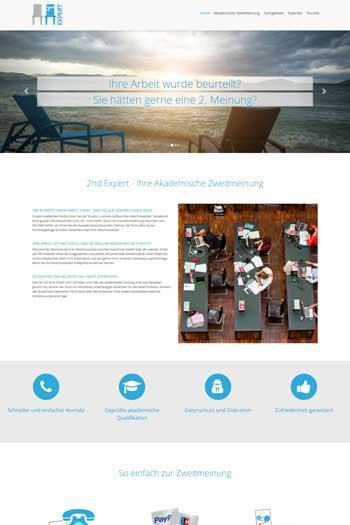 Webdesign für Service & Dienstleistung - 2nd Expert