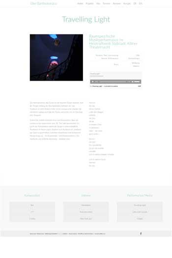 Webdesign für Kunst - Elke Bartholomäus