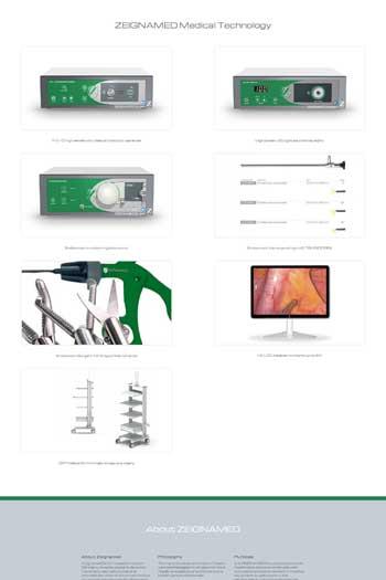 Webdesign für Industrie - Zeignamed