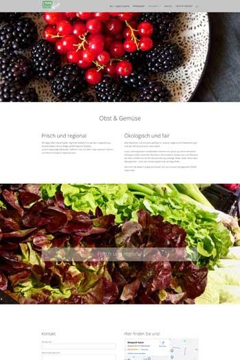 Webdesign Handel - bio...logisch Kaarst