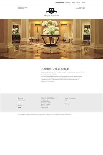 Webdesign für Architektur und Immobilien - Vrakela
