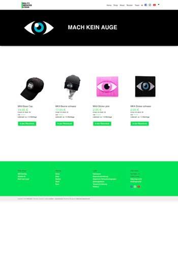 Webdesign für eCommerce & Onlineshops - VGS World